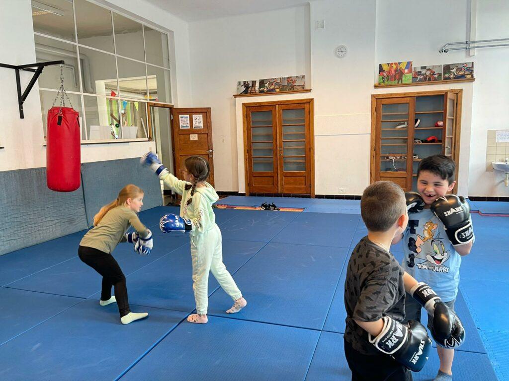 Kick- en boxing fun